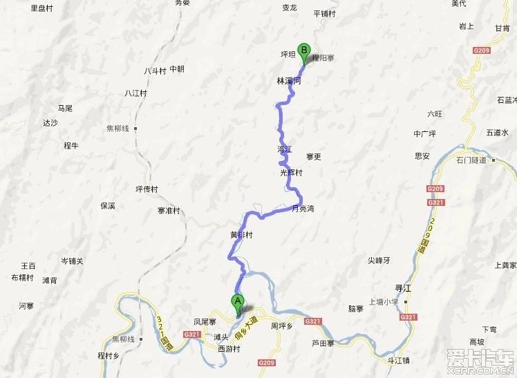 柳州市三江地图