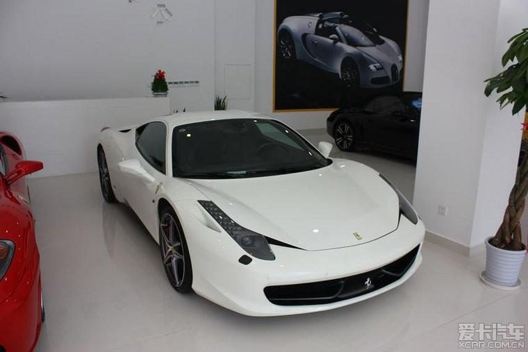 出售11年法拉利458 白色高清图片