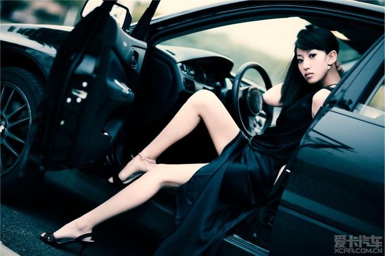 超有味道的香车美女 比基尼的少女 国内高清车