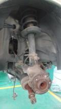 我别欧DIY――更换两前轮轴承+前后减震顶胶+右侧半轴油封+正时皮带+凸轮轴油封