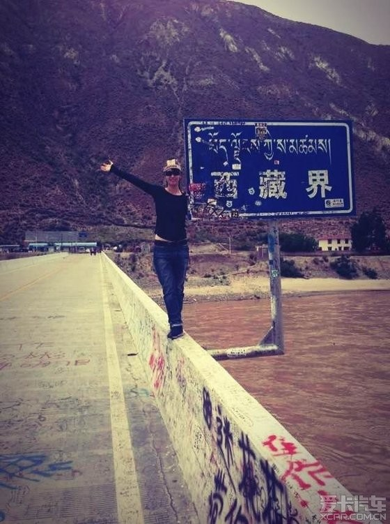单车美女果果的西藏行
