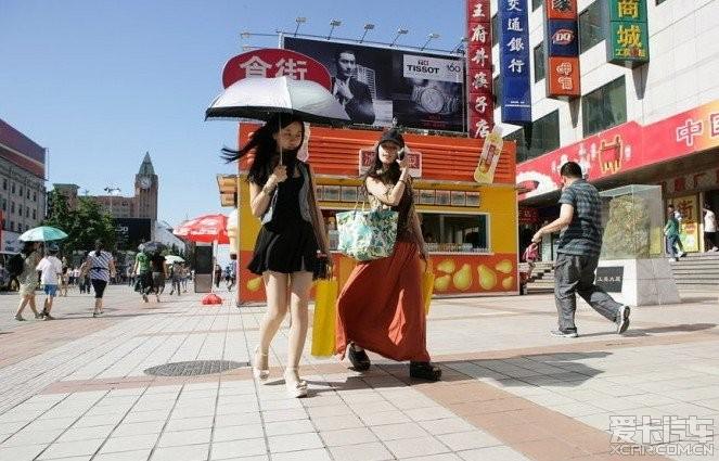 街头的各种a美女美女。_北京汽车美女_XCAR论坛铜线图片