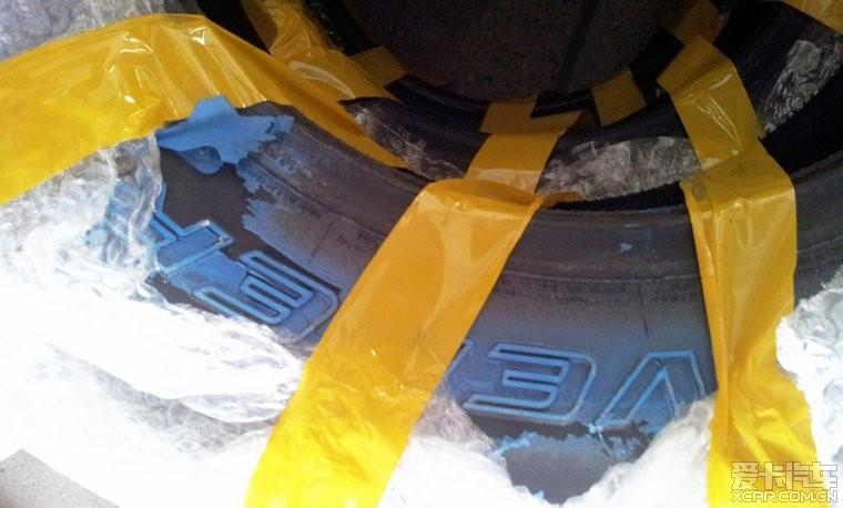 圣达菲轮胎改装高清图片