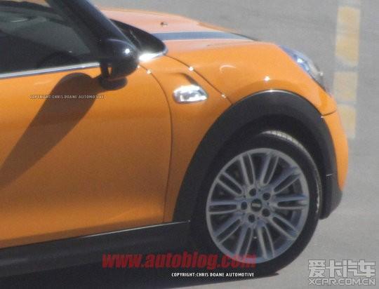 mini 2014 f56 定型版谍照 mini论坛 xcar 爱卡汽车俱乐部高清图片