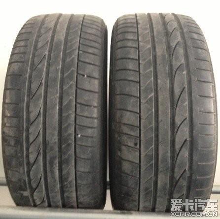 奥迪TT轮胎升级下来的原厂245 45R17普利司通防爆轮胎两条