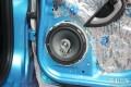 飞度改装音响CD机喇叭全改装搭配均衡才出音质