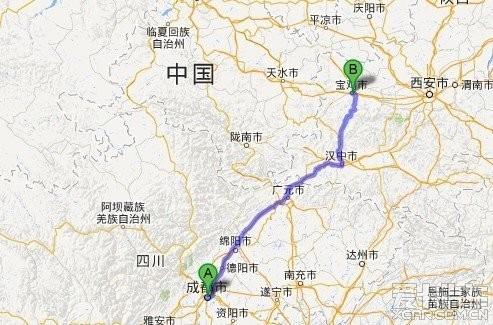 青岛到甘肃张掖高速地图