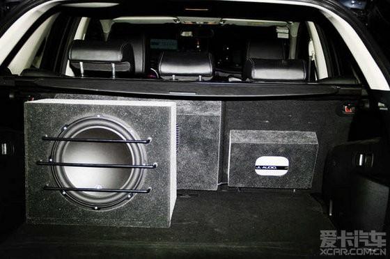 泉州专业汽车音响改装--马自达cx-7法国劲浪音响升级