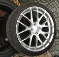 转让MINI专用德国产BREYTONGTS款十八寸钢圈2054018日本飞劲进口轮胎