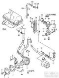 二次空气泵老有水怎么解决?还有有时一着车雨刮器就自己喷水