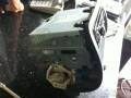 本田老飞度汽车音响升级改装KENWOOD建伍KDC-U505324Bit音频解码CD机安装过程图