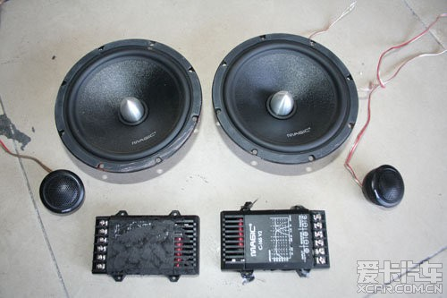 帮车友出售二手音响器材套装喇叭功放低音炮须