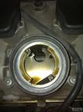 高尔夫GTI机油加注口7W+公里4S全合成机油