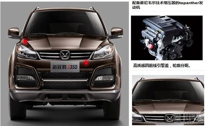越野 SUV 旅行 赛事 改装 互动中心 -各位 来欣赏下新驭胜S350高清图片