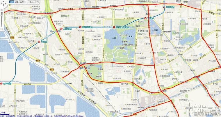 上海限行路段地图