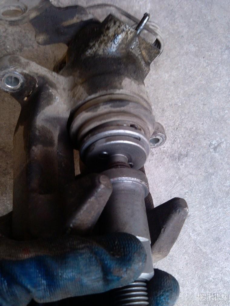 > 后刹车分泵保养diy作业