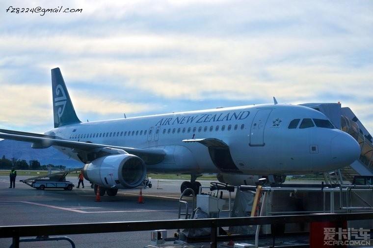 上海 - 奥克兰选择了新西兰航空公司的往返机票