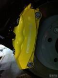 2013款卡宴改20寸BC轮毂,卡钳改色,改四出排气等