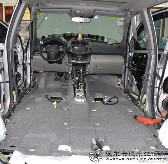 丰田rav4-3m佳静汽车环保隔音