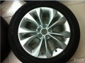 朗逸15寸轮毂升级原厂16寸轮毂轮胎