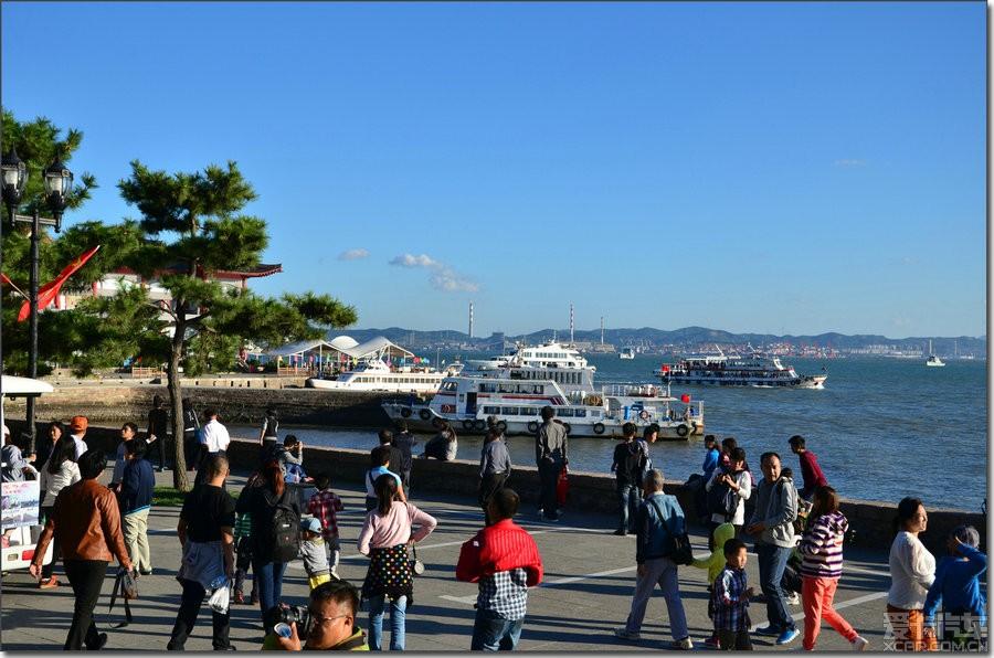 烟台旅游景点刘公岛照片