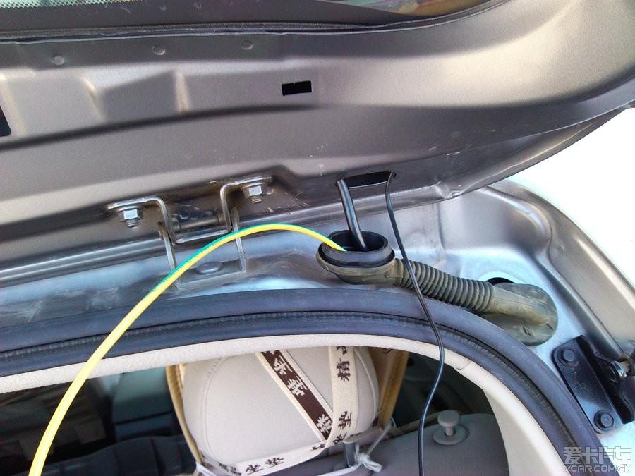 > diy安装航睿安卓导航 倒车后视摄像头 行车记录仪