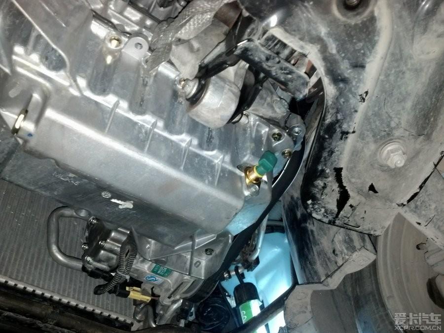 > 靠谱的神龙,更换发动机总成小八重生,多出个油底壳传感器