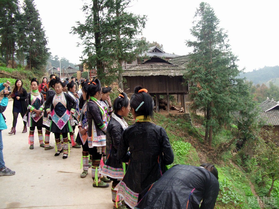 2013从江侗族大歌节之--岜沙苗寨_贵州汽车论