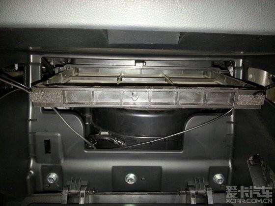 现代ix35空调滤芯位置以及拆装步骤(图片)