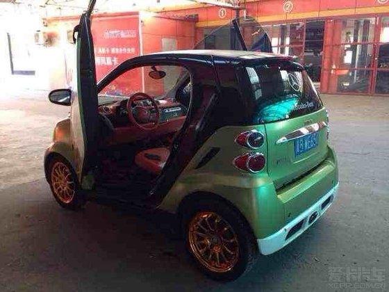 2013奔驰smart改装 版奔驰smart,曾在去年北美改装车展上沾高清图片