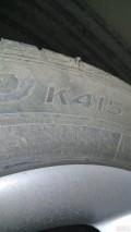 钉子这样扎进轮胎了