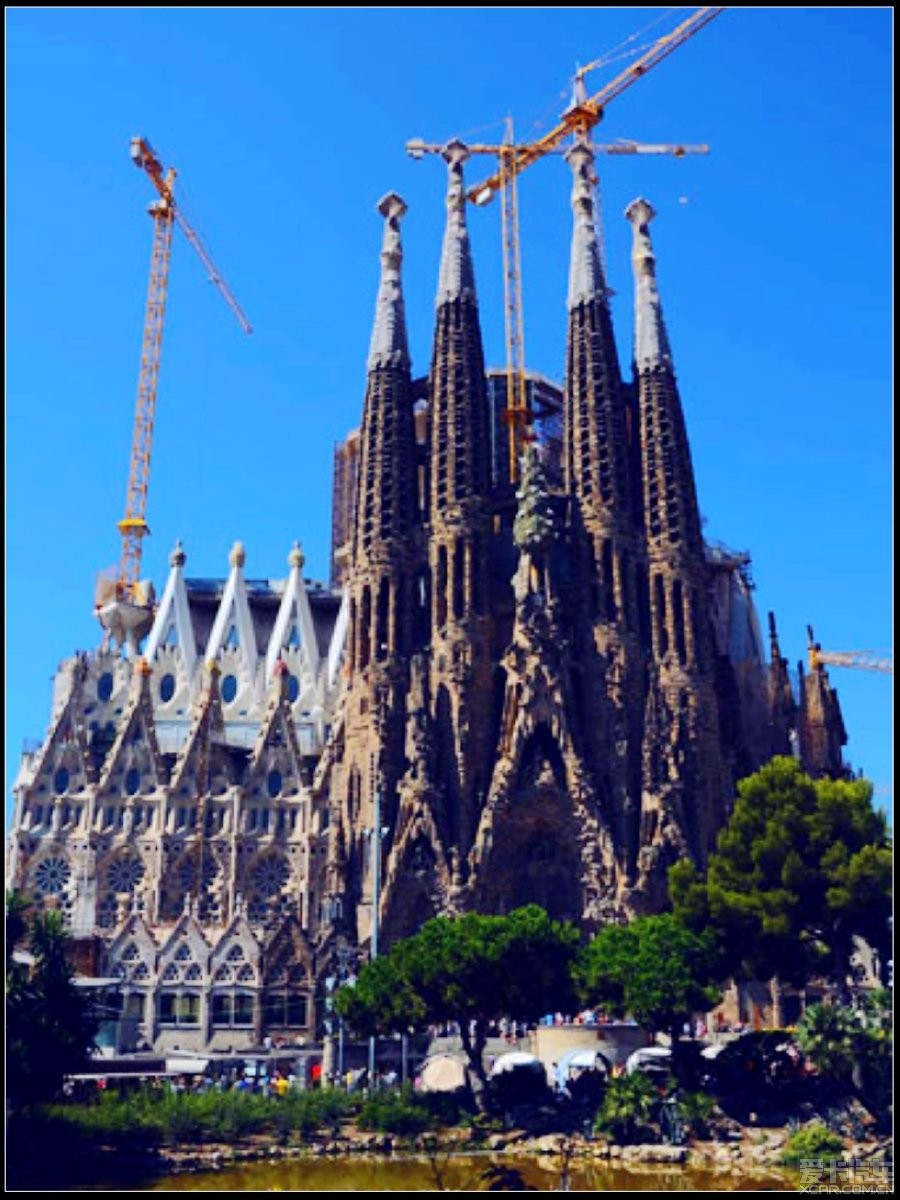 如歌如诗如图--西班牙之巴塞罗那圣家大教堂_歌诗图论坛_XCAR 爱卡汽车俱乐部