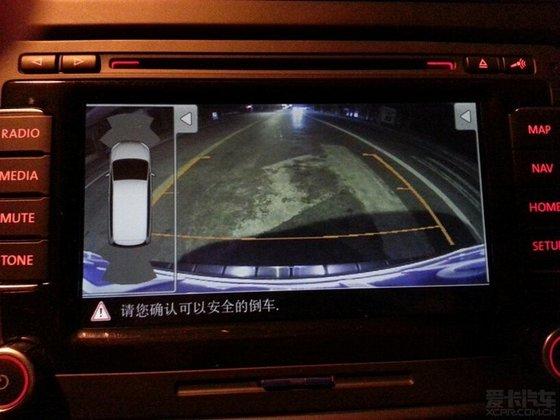 科骏达导航倒车影像画面怎么调   翼神加装导航倒车影像 高清图片