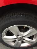 新人第一次发帖,2年4W公里POLO换轮胎+氙气大灯总成作业