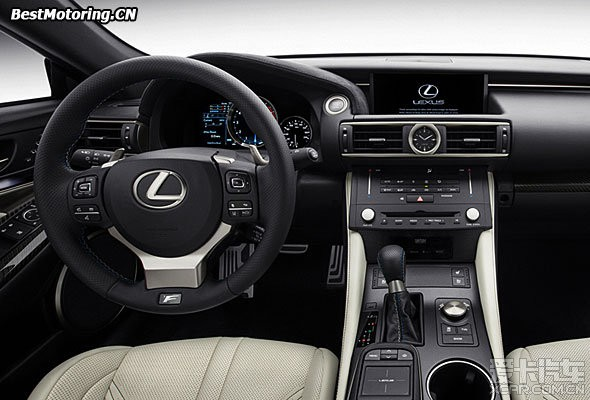 lexus rc f v8 5.0 8at 百公里加速4秒多 北京 高清图片