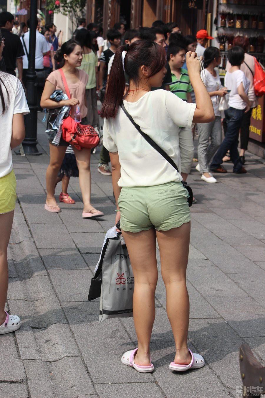 清纯还是性感 第二十五季 之街拍美女2_上海汽