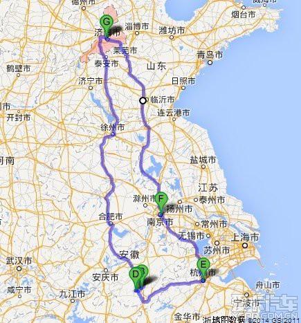 2014春节自驾济南-黄山-宏村-杭州-南京