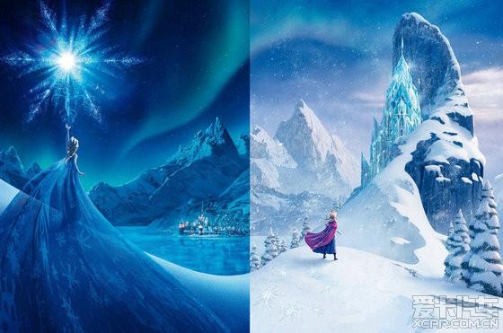 frozen冰雪奇缘的女王真酷哦