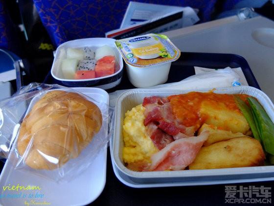 返程南航飞机的早餐