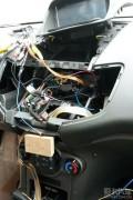 嘉年华音响改装建伍CD机倒模安装建伍KDC-U7056BT