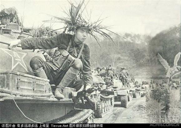 你没见过的对越自卫反击战黑白照(越南境内)_