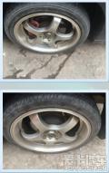 转让17寸骐达轮毂,也可直接置换原车15寸轮毂。