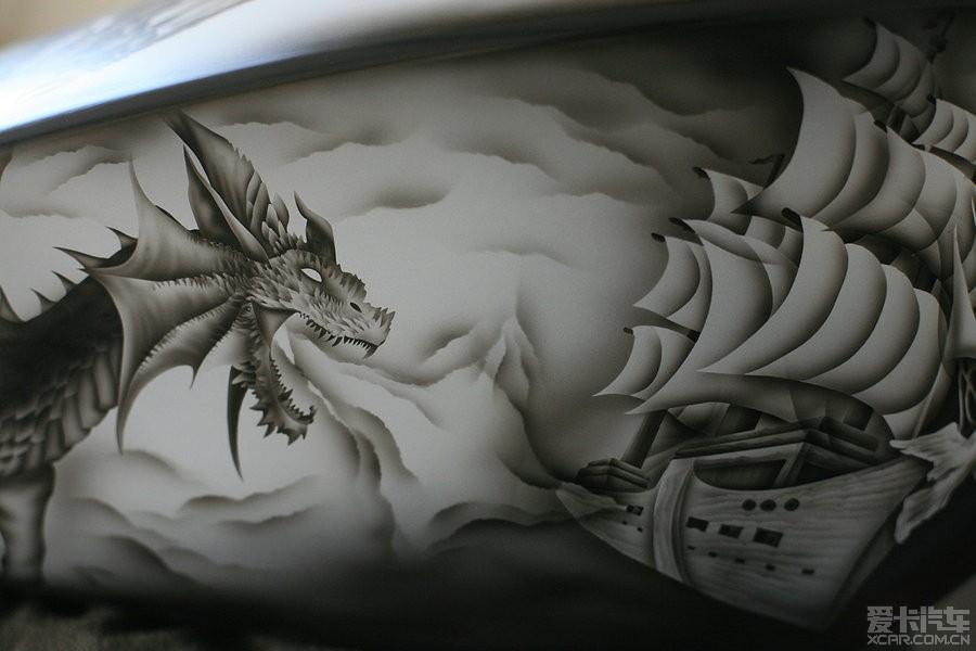 一个与龙v骑士的骑士龙故事_摩托车改装_XCA蜘蛛侠黑猫漫画与图片