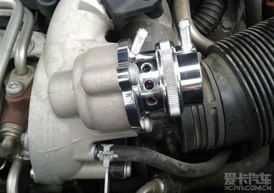 > 涡轮增压的好伙伴加装forge一体式泄压阀图片