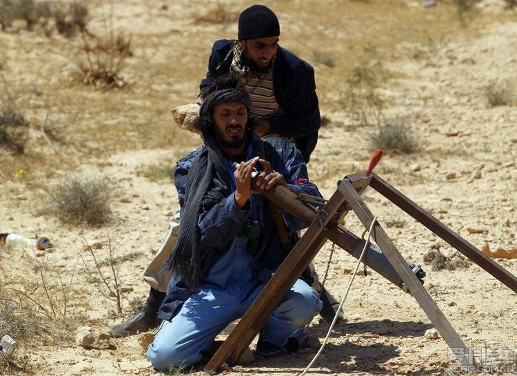 值得一看,利比亚战争中的重武器、轻型火炮和