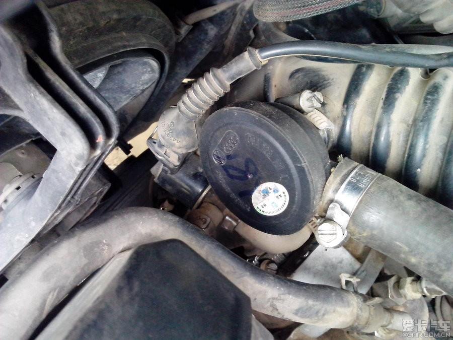 拆解更换 废气压力阀 新手作业图片