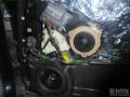 番禺乔歌里汽车音响改装三分频奥迪A6三分频改装