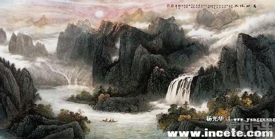 现代著名画家杨光华作品欣赏精华