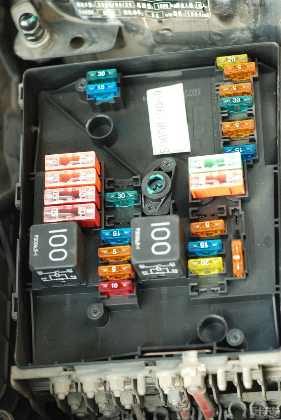09g速腾 发动机仓 继电器盒 保险丝严重烧毁 求救!