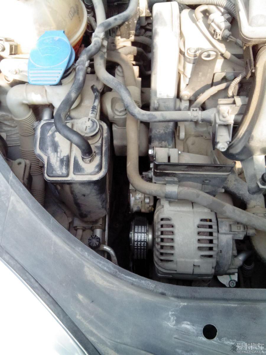 汽车发电机皮带是什么作用,和曲轴链接吗 求概述高清图片